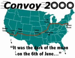 We got a little Convoy map...