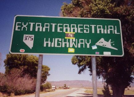 Nevada 375, the Extra-Terrestrial Highway
