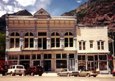 Wright Opera House in Ouray