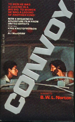 Convoy novelization, front cover