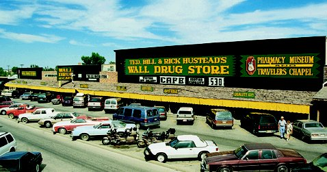 Ted, Bill & Rick Hustead's Wall Drug Store