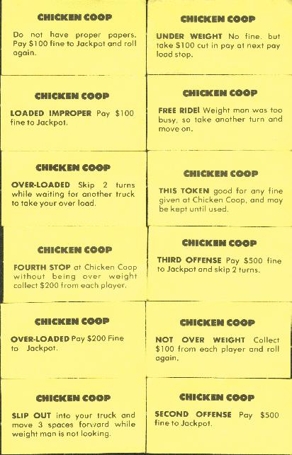Chicken Coop cards