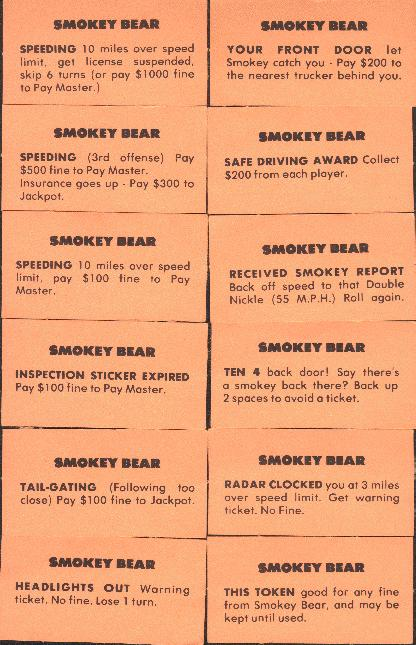Smokey Bear cards