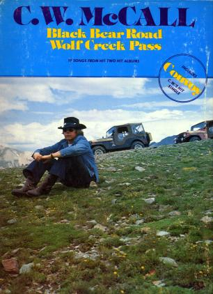 Sheet music book of Black Bear Road and Wolf Creek Pass