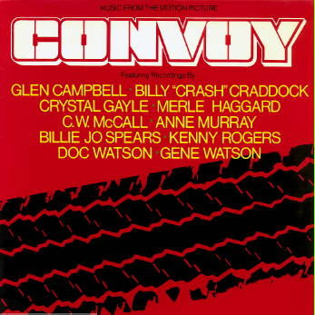 Convoy LP. Cover scan by T A Chafin.