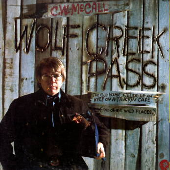 Wolf Creek Pass LP. Cover scan by T A Chafin.